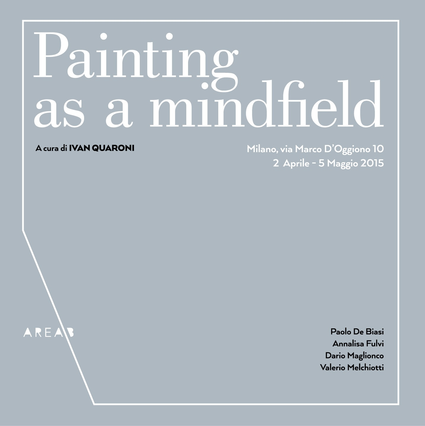 Painting as a mindfield